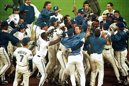 1993 World Series on DVD Toronto Blue Jays Vs. Philadelphia Phillies