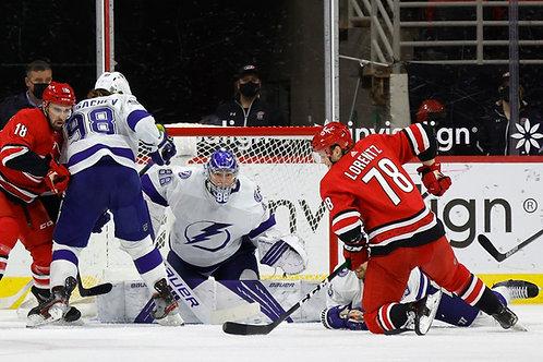 2021 NHL 2nd Round Playoff - Carolina Vs. Tampa Bay - All 5 Games