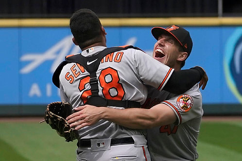 2021 Baltimore Orioles No Hitter on DVD - John Means