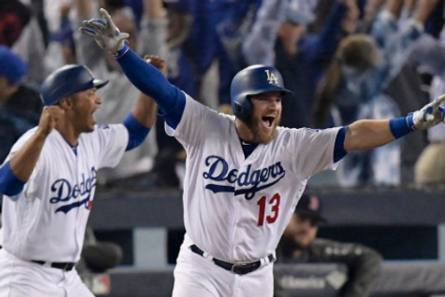2018 World Series Game #3 - Longest Game - LA Dodgers Max Mundy