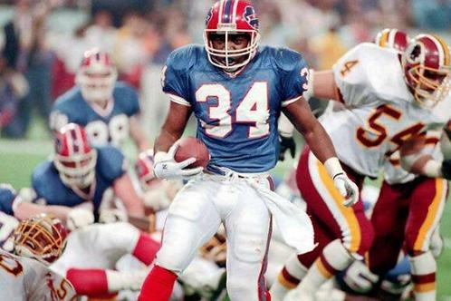 1991 Buffalo Bills Super Bowl XXVI 26 Season on DVD - Thurman Thomas