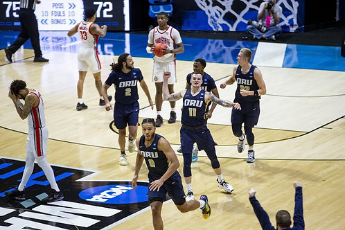 2021 NCAA Basketball Round of 64 on DVD - Oral Roberts Upsets Ohio State
