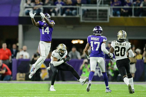 2017 NFC Divisional Playoff - Vikings vs Saints on DVD - Minneapolis Miracle
