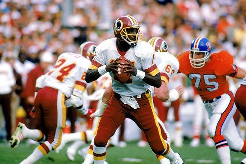 1987 Washington Redskins Super Bowl XXII 22 Season on DVD - Doug Williams