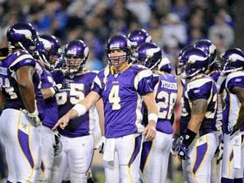 2009 Minnesota Vikings NFC Championship Season on DVD - Brett Favre