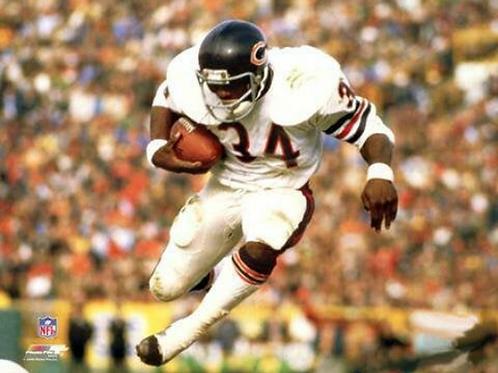 1979 Chicago Bears NFC Wildcard Season on DVD - Walter Payton