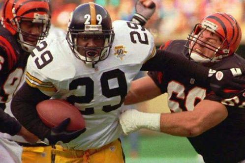 1992 Pittsburgh Steelers AFC Divisional Season on DVD - Barry Foster Rod Woodson