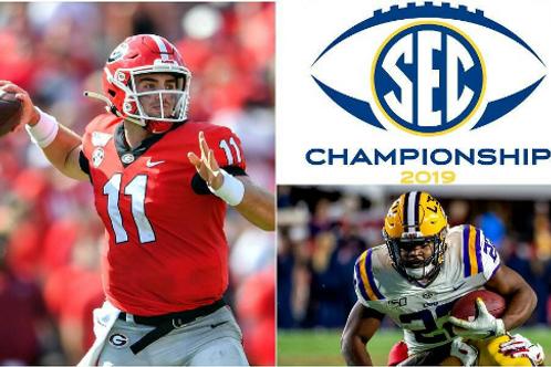 2019 SEC Championship on DVD - Georgia vs LSU - Complete Game