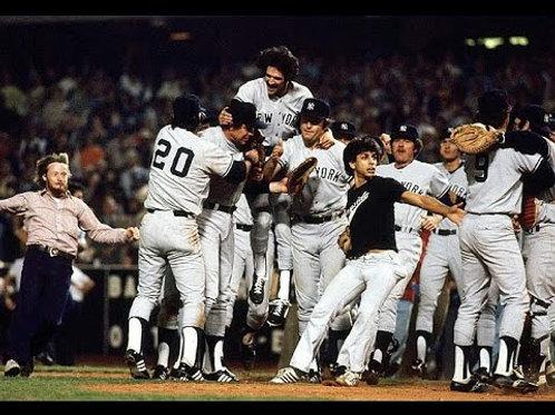 1978 World Series on DVD New York Yankees Vs Los Angeles Dodgers