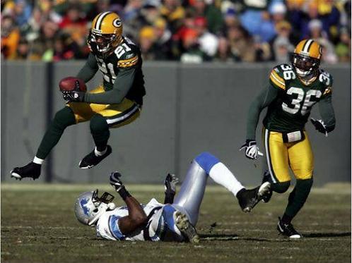 2009 Green Bay Packers NFC Wildcard Season on DVD - Charles Woodson