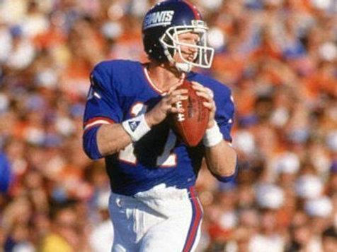 1986 New York Giants Super Bowl XXI 21 Season on DVD - Phil Simms