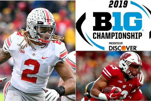 2019 BIG 10 Championship on DVD - Wisconsin vs. Ohio State - Complete Game