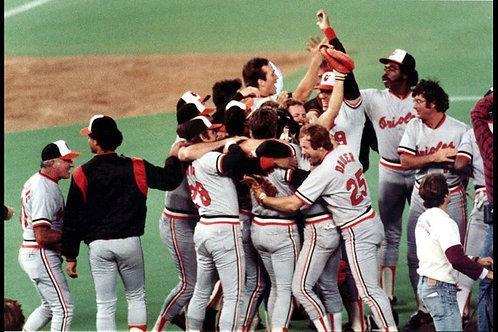 1983 World Series on DVD Baltimore Orioles Vs Philadelphia Phillies