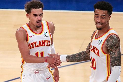 2021 NBA EC 1st Round Playoff on DVD - Atlanta Vs. New York - All 5 Games