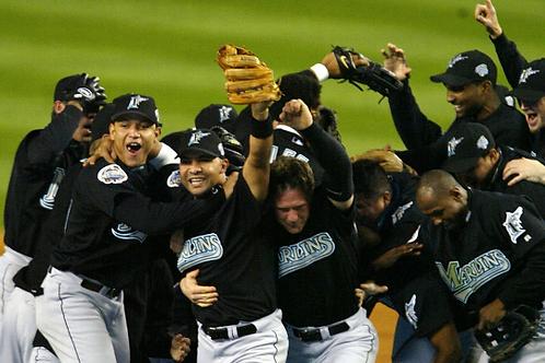 2003 World Series on DVD Florida Marlins Vs. New York Yankees