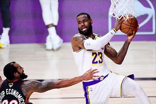 2020 NBA Finals on DVD - Los Angeles Lakers vs Miami Heat - LeBron James MVP