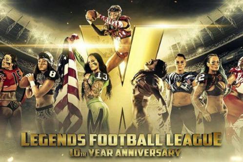 2019 Legends Football League LFL Season on DVD - 10th Anniversary