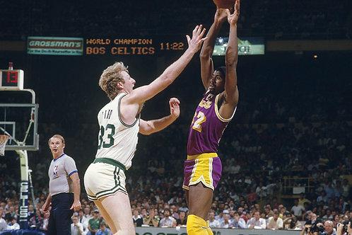 1985 NBA Finals on DVD - Los Angeles vs Boston - Kareem Abdul-Jabbar MVP