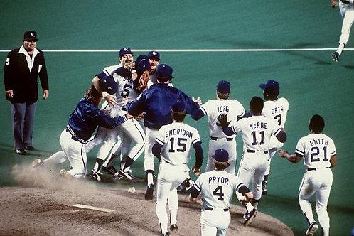 1985 World Series on DVD Kansas City Royals Vs St. Louis Cardinals