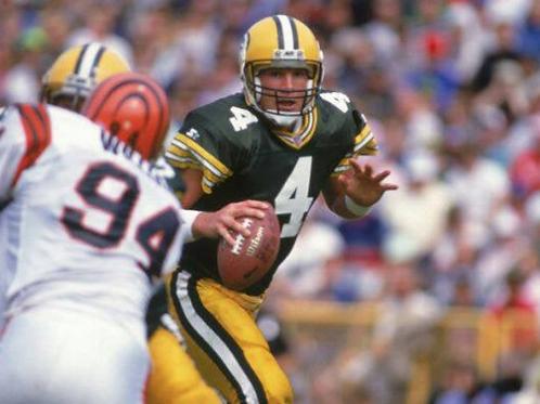 1992 Green Bay Packers Full Season on DVD - Brett Farve First Start