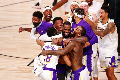 2020 Los Angeles Lakers NBA Playoffs & Finals Games On DVD - All 16 Wins Only
