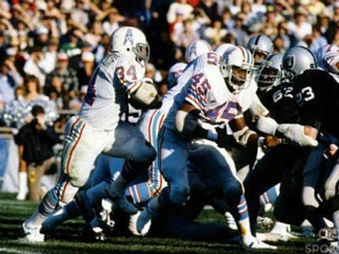 1980 Houston Oilers AFC Wildcard Season on DVD Earl Campbell 1,934 Rushing Yards