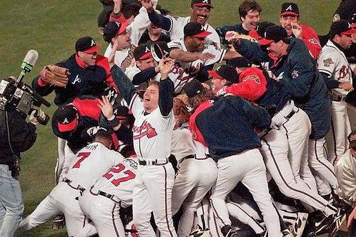 1995 World Series on DVD Atlanta Braves Vs. Cleveland Indians