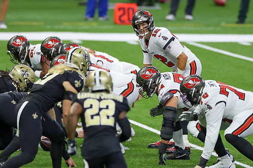 2020 NFC Divisional Playoff on DVD - Tampa Bay Buccaneers vs New Orleans Saints