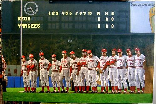1976 World Series on DVD Cincinnati Reds Vs. New York Yankees