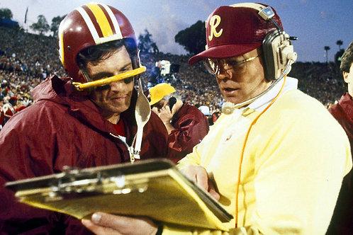 1981-1992 Washington Redskins Seasons All 12 Years on DVD - Joe Gibbs' 1st Stint