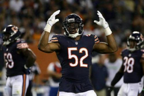 2018 Chicago Bears NFC Wildcard Season on DVD - Khalil Mack