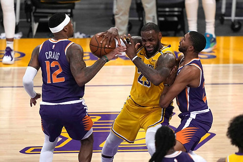 2021 NBA WC 1st Round Playoff on DVD - Phoenix Vs. L.A. Lakers - All 6 Games