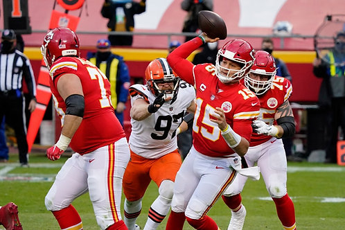2020 AFC Divisional Playoff on DVD - Kansas City Chiefs vs Cleveland Browns