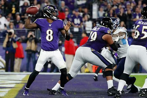 2019 Baltimore Ravens AFC Divisional Season on DVD -  Lamar Jackson