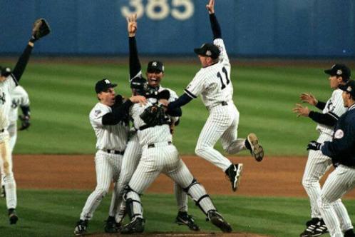 1999 World Series on DVD New York Yankees Vs. Atlanta Braves