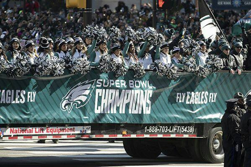 2017 Philadelphia Eagles Super Bowl LII 52 Championship Parade and Rally on DVD