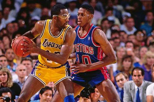 1988 NBA Finals on DVD - Los Angeles vs Detroit - James Worthy MVP