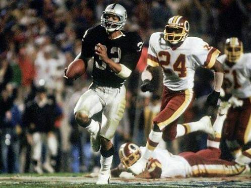 1983 Los Angeles Raiders Super Bowl XVIII 18 Season on DVD - Marcus Allen