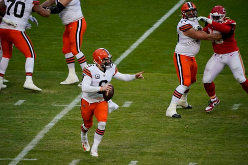 2020 Cleveland Browns AFC Divisional Season on DVD - Baker Mayfield