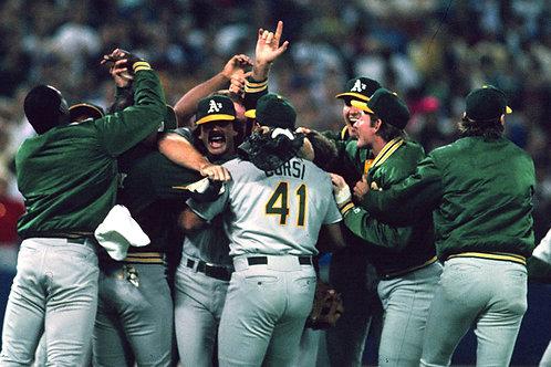 1989 World Series on DVD Oakland Athletics Vs. San Francisco Giants