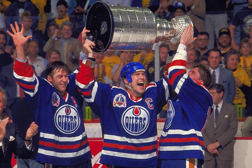 1990 Edmonton Oilers NHL Playoff Run & Stanley Cup Finals on DVD