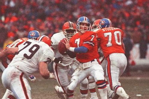 1986 Denver Broncos Super Bowl XXI 21 Season on DVD - John Elway