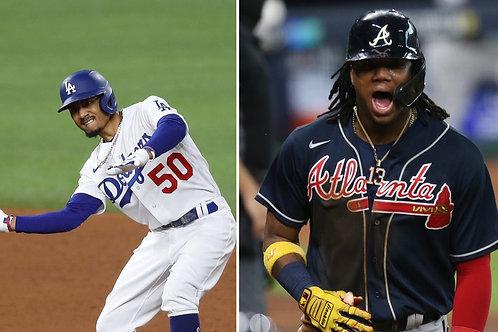 2020 MLB NLCS on DVD - Los Angeles Dodgers vs Atlanta Braves - All 7 Games