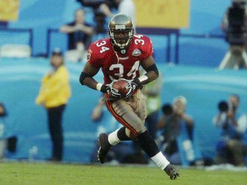 2002 Tampa Bay Buccaneers Super Bowl XXXVII 37 Season on DVD - Dexter Jackson