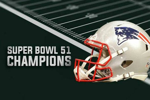 Super Deluxe 7 DVD New England Patriots Super Bowl 51 LI with Playoff Games