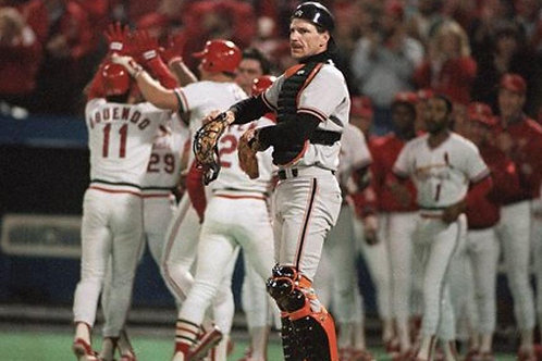 1987 MLB NLCS on DVD - St. Louis Cardinals vs San Francisco Giants - All 7 Games