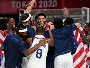 2020 Men's Olympic Basketball Gold Medal Game on DVD - USA Fourth Straight