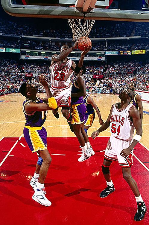 1991 NBA Finals on DVD - Chicago Bulls vs Los Angeles Lakers - Michael Jordan