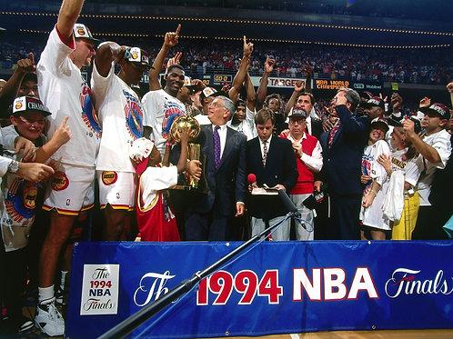 1994 NBA Finals on DVD - Houston Rockets vs New York Knicks - Olajuwon