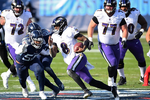 2020 AFC Wild Card on DVD - Baltimore Ravens vs Tennessee Titans